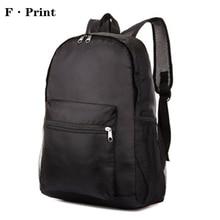 Men & Women Folding Backpack Light Weight Waterproof Nylon Leisure Shoulder Bag Travel Portable Large Capacity Backpack