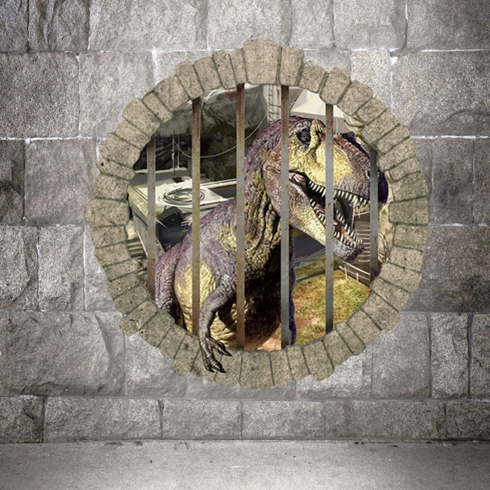 Wholesale 3d fethead kids room wall decals dinosaurs wall stickers wholesale 3d fethead kids room wall decals dinosaurs wall stickers home decorative wall murals athomeg bedroom living room in wall stickers from home amipublicfo Gallery