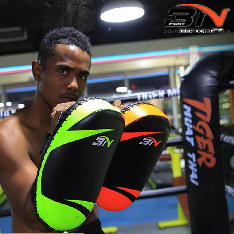 Boxing Pad BN Adult Muay Thai Training Target Taekwondo Punching Glove MMA Tool