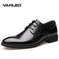 Men Dress Shoes Luxury Brand 2016 Oxford Hot Italian Shoes Casual Business Party Wedding Shoes Male