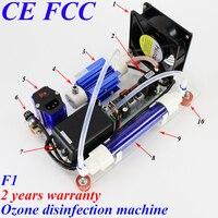 Pinuslongaeva CE EMC LVD FCC 10g/h 10grams F1 simple ozone air and water disinfection machine ozone generator