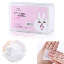 1000Pcs/Set Cosmetic Cotton Wipes Soft Makeup Cotton Pad box Facial Cleansing Paper Wipe Skin Care Remove With Retail Packing