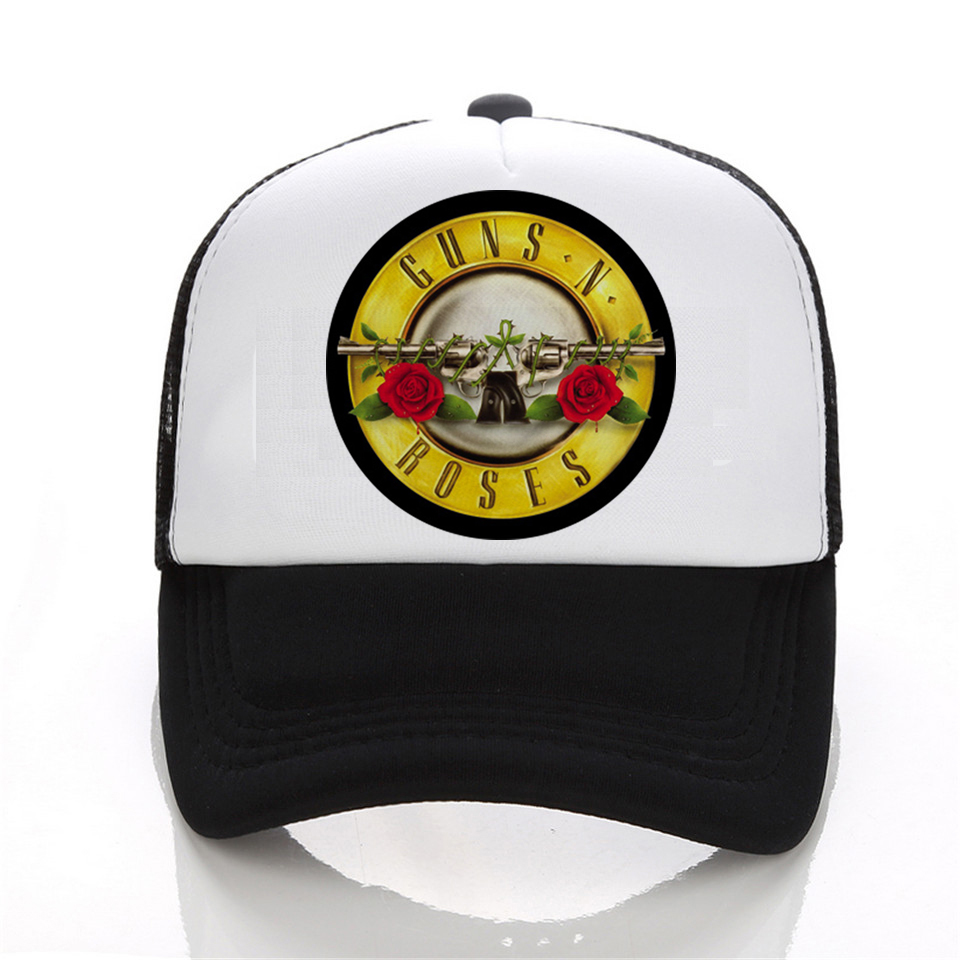 Fashion Cap Print Shirts Guns N Roses Led Zeppelin The Beatles baseball Cap Men 3D Hip Hop black White Hat Snapback Women Cap beatles beatles anthology 3 3 lp