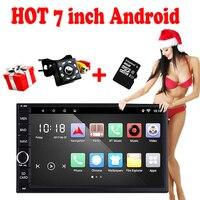 Rhythm 2 Din Android 6 0 Car NO DVD Player GPS Wifi Bluetooth Radio Quad Core