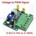 0-5 V/0-10 V a 0-100% Tensão de Entrada Analógica para Conversor De Sinal PWM PLC módulo AD