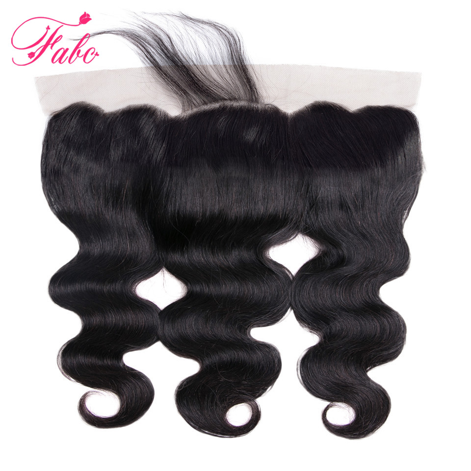 HTB1Wa.syiCYBuNkSnaVq6AMsVXag Fabc Hair Brazilian Body Wave 3 Bundles With Frontal Human Hair Weave Bundles 13x4 Lace Frontal Middle Ratio Non-remy