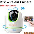 960P PTZ IP Camera remote control Pan/TILT two way audio Motion detection 1.3MP Wireless wifi Camera ir night SD Card storage