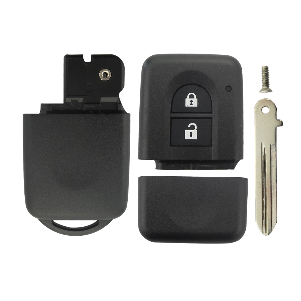 Image 5 - OkeyTech 2 кнопки Замена дистанционного ключа автомобиля оболочки брелок чехол держатель для Nissan MICRA Xtrail JUKE DUKE NAVARA Qashqai j11 Sunny-in Ключ авто from Автомобили и мотоциклы