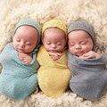 Recién nacido Fotografía Atrezzo Infantil Traje Traje de Algodón Suave Foto Del Abrigo A Juego Del Bebé Foto Atrezzo fotografia