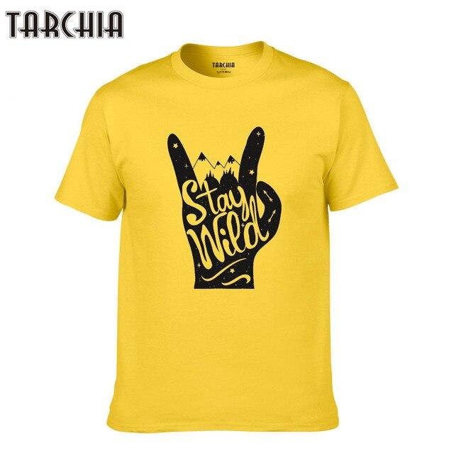 Tarchia 2019 Boy Men T Shirts Short Sleeve Tshirt Cotton Casual