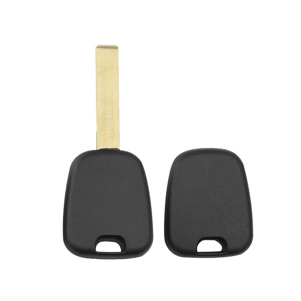 OkeyTech غير مصقول HU83 الأخدود VA2 شفرة فارغة المستجيب السيارات غطاء مفتاح السيارة استبدال الحال بالنسبة لبيجو لسيتروين C2 لا رقاقة