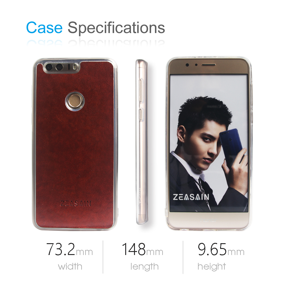 ZEASAIN- ի թափանցիկ հետևի շապիկ Huawei Honor 8 - Բջջային հեռախոսի պարագաներ և պահեստամասեր - Լուսանկար 6