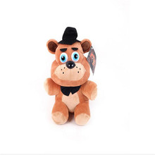 new 1pce/lot plush Bonnie china foxy freddy doll toy Furnishing articles Childrens gift
