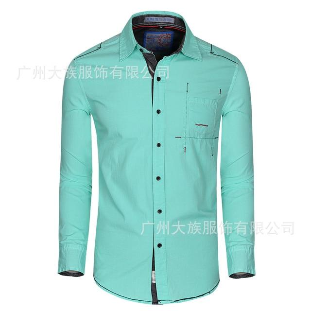 Roze Heren Overhemd.Heren Overhemd Lange Mouwen Man Casual Mens Eenvoudige Effen Blauw