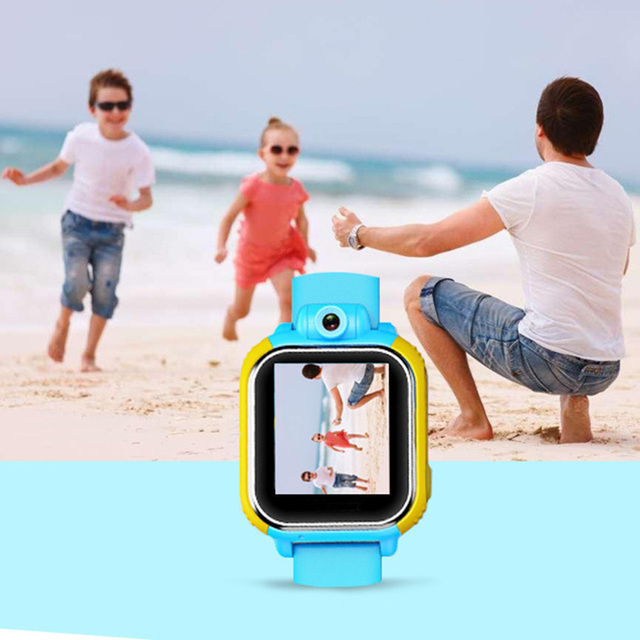 HOMEBARL Q730 3G Network Kids Smart Watch Phone Wifi GPS Positioning Tracking HD Camera SOS Button For Android IOS PK 4G Watches 3