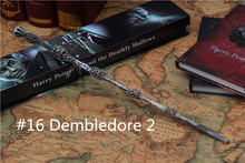 Magic Wand Harry Potter Wand 35cm Dumbledore scripture Edition Non-luminous wand with box #16