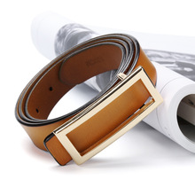 Fashion sweet beauty style buckle jeans wild retro leather belt womens fashion simple new luxury designer
