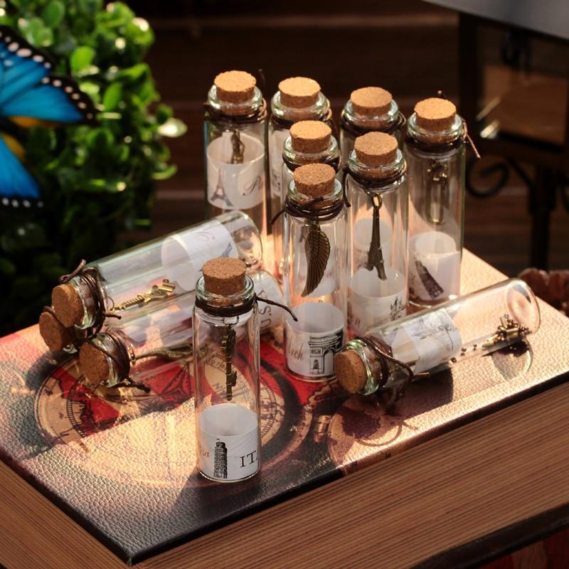 setbox vintage lucky frasco de vidrio colgando artesanas decorativas cruz regalo de navidad