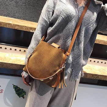 Scrub Bucket Crossbody Bag  2
