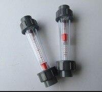 LZS 50 1 10m3 H Plastic Tube Type Series Rotameter Flow Meter Tools Measurement Analysis Flow