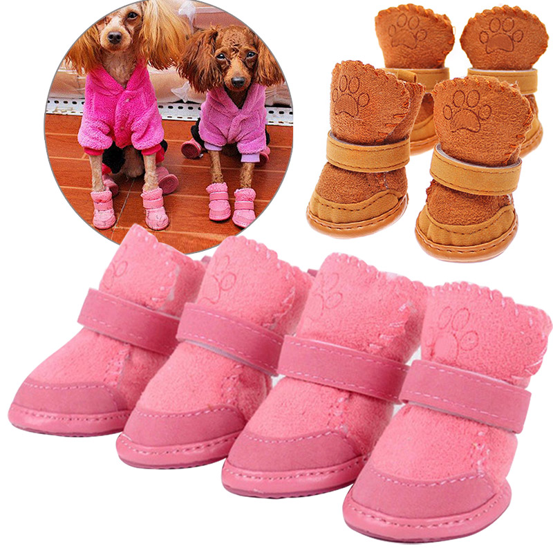 Dog Shoes Chihuahua Dog Shoes Small Dogs Pet Shoes Puppy Winter Warm Boots Shoes Hot Sale