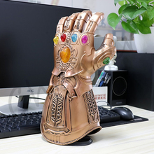 1:1 Avengers Infinity War Thanos Infinity Gauntlet Thanos Gloves for Halloween Prop