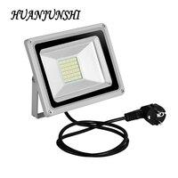 2 sztuk 30 W lampa LED reflektor reflektor zewnątrz doprowadziły światła powodzi AC200-240V 2100 lumenów 60 Led wash światła powodzi z Euro wtyczka