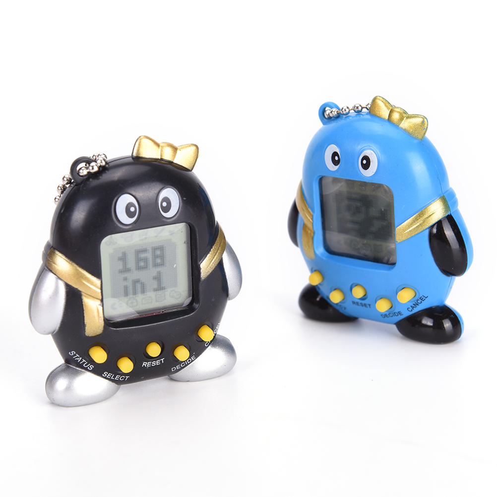 1Pc Unisex Game Toy Baby Gift Toy Multicolor Virtual Pets In One Penguin Electronic Digital Pet Machine Game Random Color