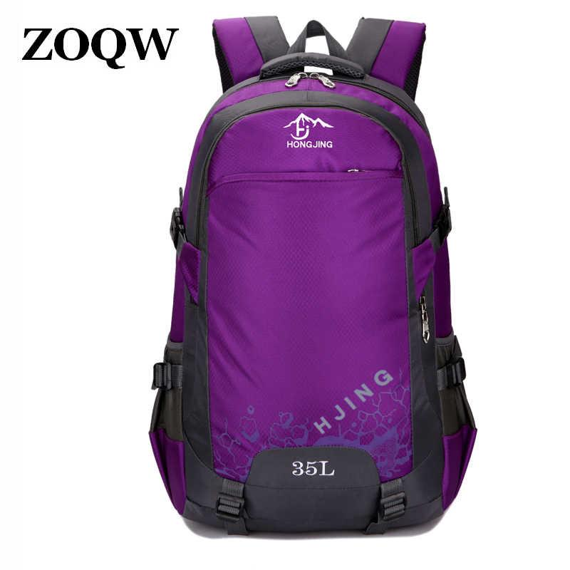 5669f585d631 Мешок черный Для женщин рюкзак Для мужчин Водонепроницаемый дешевые Рюкзаки  путешествия ноутбук рюкзак Школьные ранцы для
