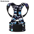 Wonder Beauty Waist Shaper Neoprene Camouflage Back Support Slimming Waist Training Body Shaper Trainer Plus Size Fajas Reductor