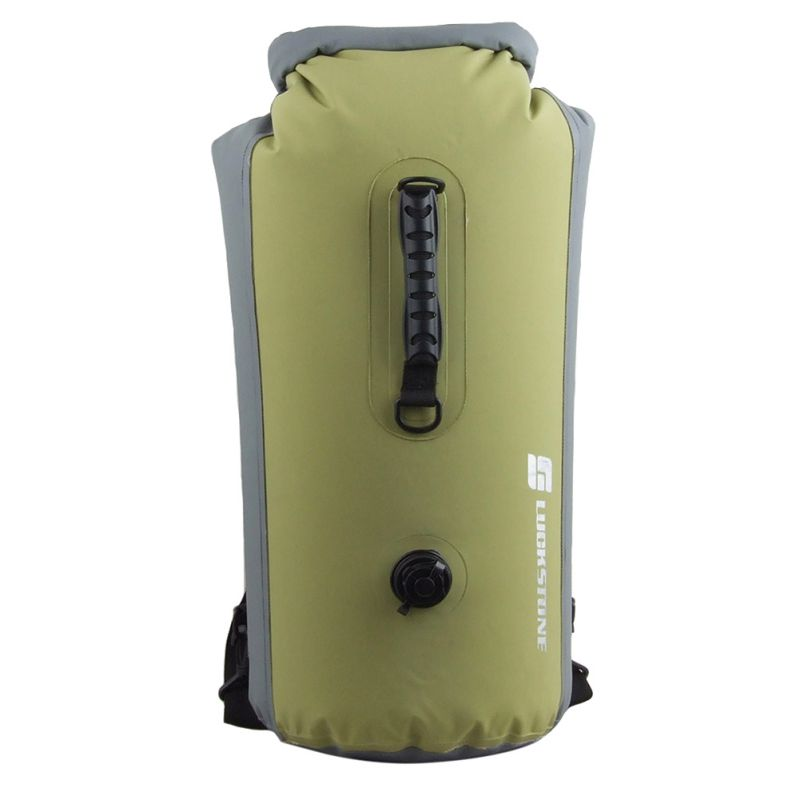 25L/35L/60L  Travel Dry Bags Kayak Canoe Rafting Waterproof Double-Shoulder Bag Portable Outdoor Travel PVC Diving Bag l