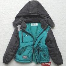 Hiver épaissie enfants vêtements manteau sportif enfants vêtements Double – pont coupe – vent imperméable garçons et filles vestes pour 3 – 14 T