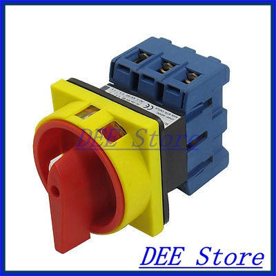 600V 63A AC 2 Position Rotary Cam 6 Terminals Universal Combination Switch cenmax vigilant v 6 a