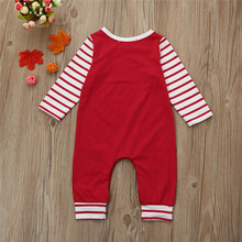 Christmas Baby Long Sleeve Jumpsuit