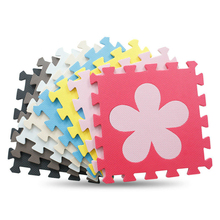 10pcs/set Puzzle carpet baby play mat ,floor puzzle mat  for bedroom