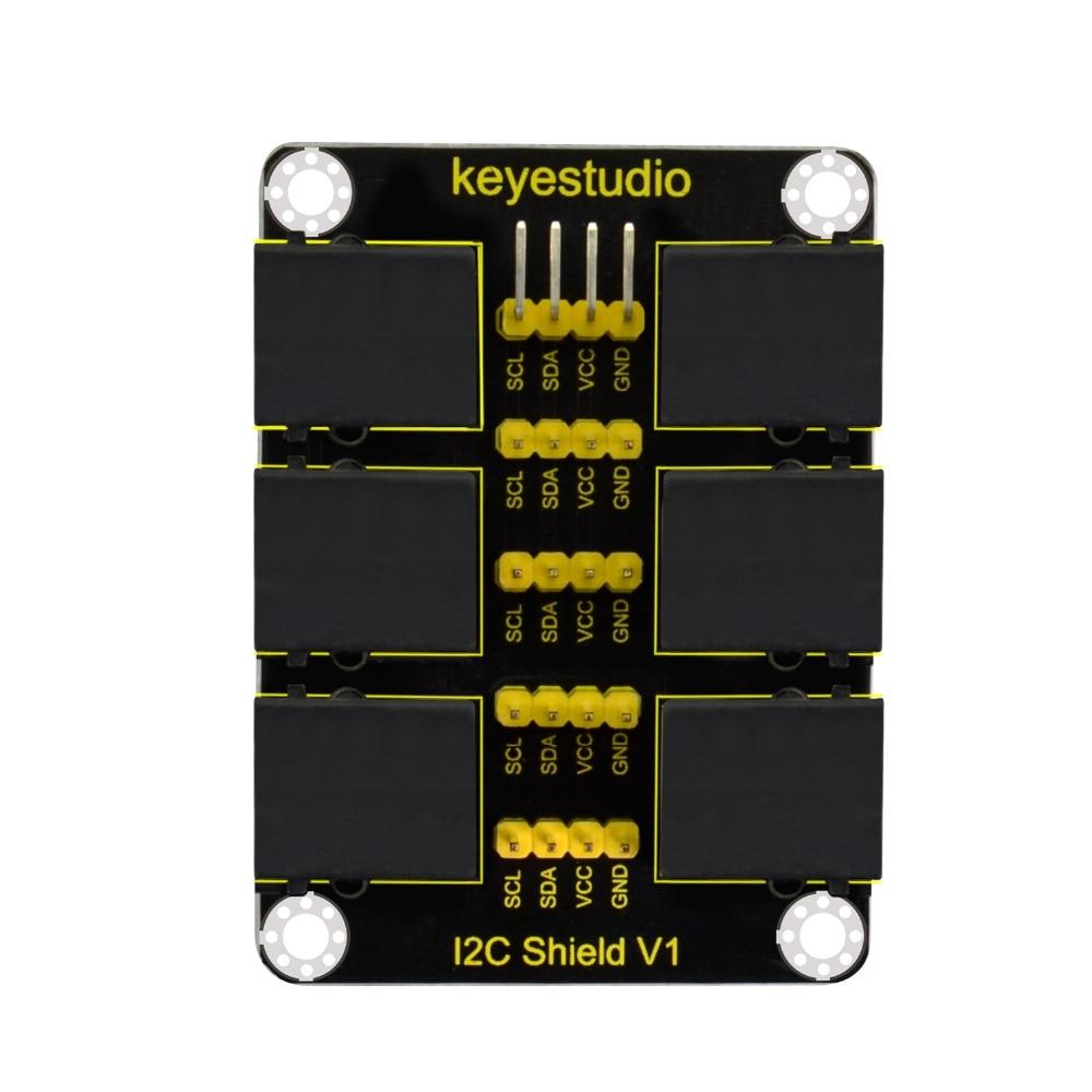 Keyestudio  EASY plug  RJ11 IIC Interface Conversion Shield For Arduino STEMKeyestudio  EASY plug  RJ11 IIC Interface Conversion Shield For Arduino STEM