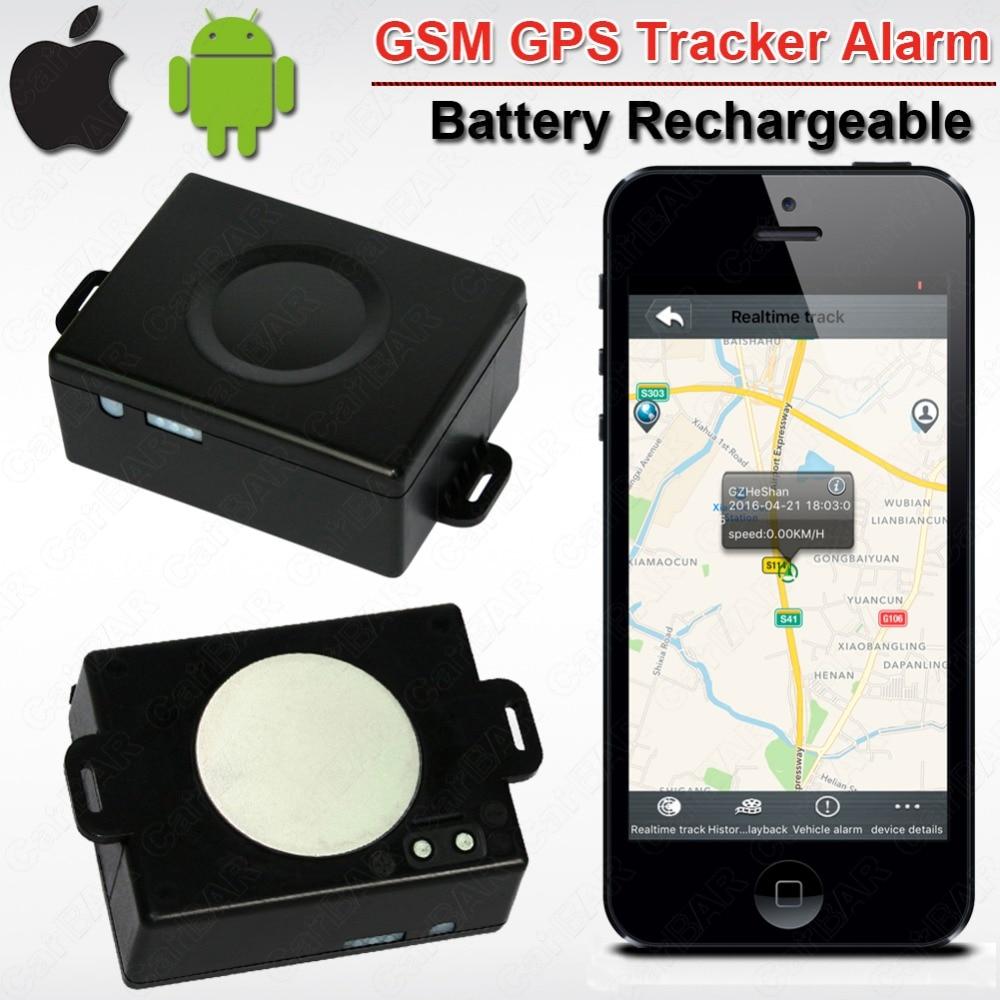Traqueurs personnels de GPS de voiture de véhicule avec la batterie de longue durée (5200 mAH)