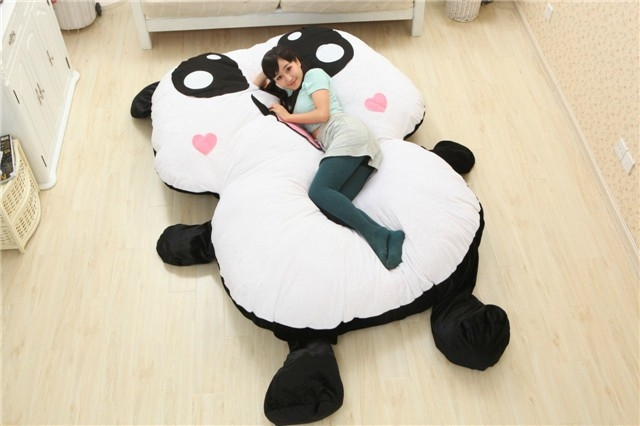 2016 cartoon stuffed plush animals panda style decorative pillows decorate big cushion sleeping. Black Bedroom Furniture Sets. Home Design Ideas