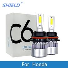 купить LED Auto Headlamp For Honda JAZZ Accord City Civic CR-V Odyssey Insight  LED H1 H4 H7 H11 9005/HB3 9006/HB4 Car Headlight Bulb дешево