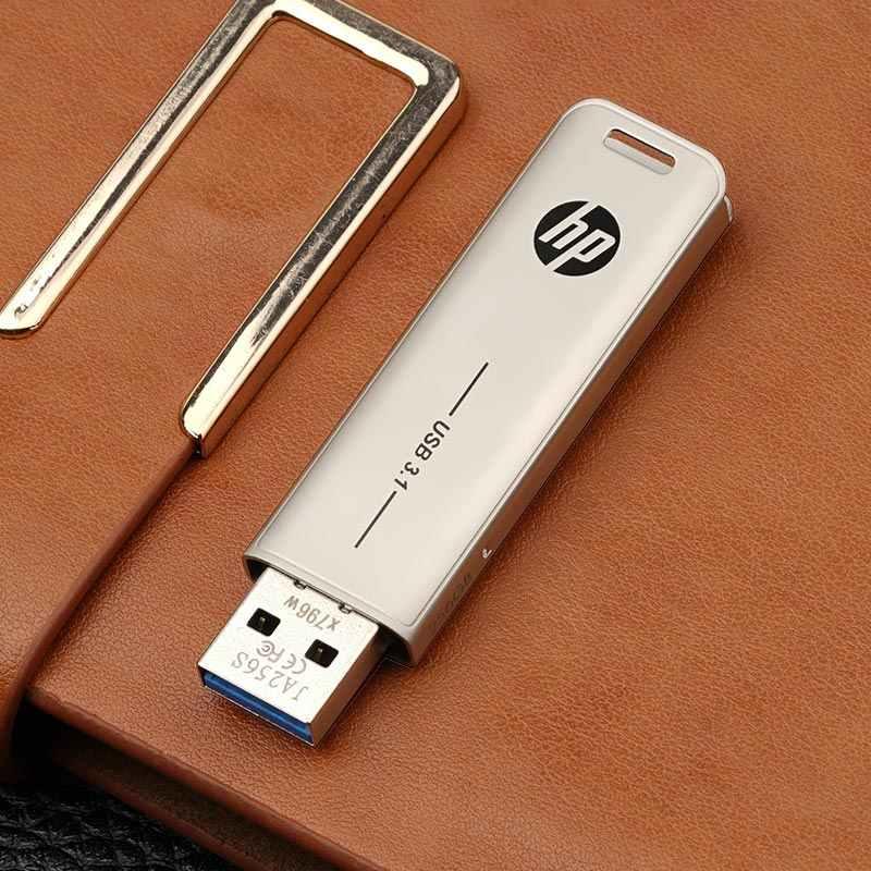 ヒューレットパッカード USB フラッシュ 32 ギガバイト 64 ギガバイト 128 ギガバイト 256 ギガバイト 512 ギガバイトペンドライブ Cle usb フラッシュドライブディスクキークリエイティブ金属フラッシュメモリスティック