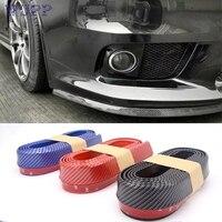 Pretty Universal Carbon Fiber Front Bumper Lip Splitter Chin Spoiler Body Kit Trim Jy29