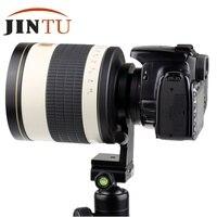 JINTU 500 мм f/6,3 Супер телефото зеркало HD объектив для NIKON D3000 D700 D300 D300S D200 D90 D80 D70 D70s DSLR Камера