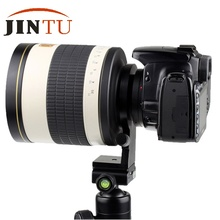 JINTU 500mm f/6.3 Súper Teleobjetivo Espejo HD Lente para NIKON D3000 D700 D300 D300S D200 D90 D80 D70s D70 DSLR cámara