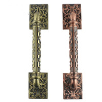 325MM High Quality Antique Zinc Alloy Wood Door Handles Europen Style Big Gate Door Pulls KTV
