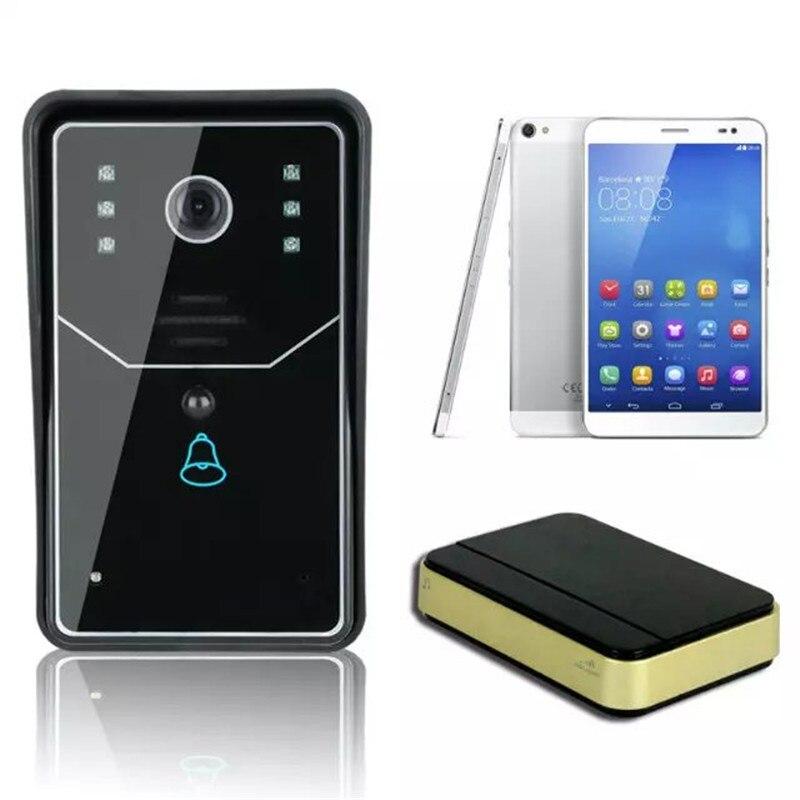 720P APP Remote Control WIFI Doorbell Intercom System ...