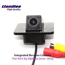 Liandlee для KIA K5 Оптима 2010~ камера заднего вида для парковки Камера камера заднего вида/SONY CCD HD интегрированный