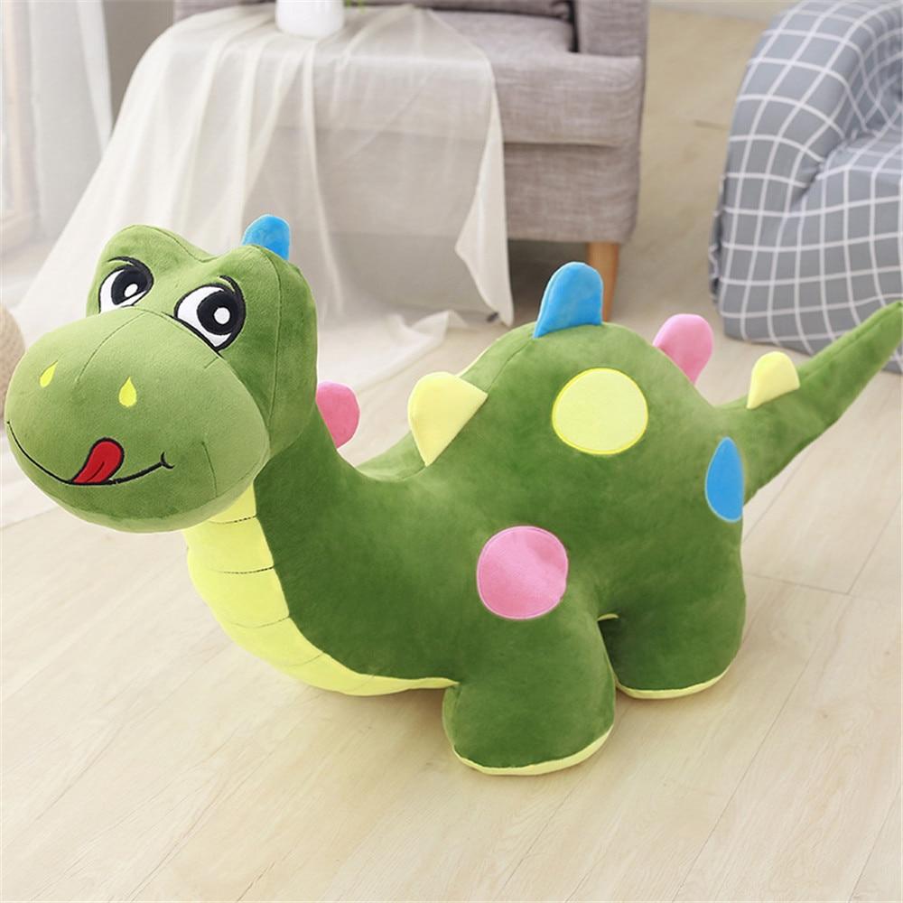 Fancytrader Cute Big Dinosaur Plush Toys Giant Stuffed Anime Kids Play Doll Dinosaur 130cm/100cm/80cm