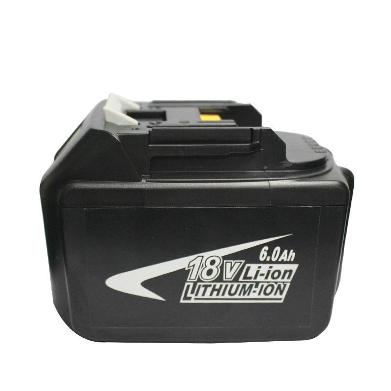 BL1860 Electric Drill Battery 18V 6000mAh For MAKITA 194205 3 194309 1 BL1845 BL1830 BL1445 BL1460