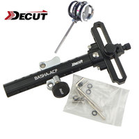 1 Set Bow Sight Stand for Compound Bow Aluminum Alloy Material Bow Accessory 5 Colors For Shooting