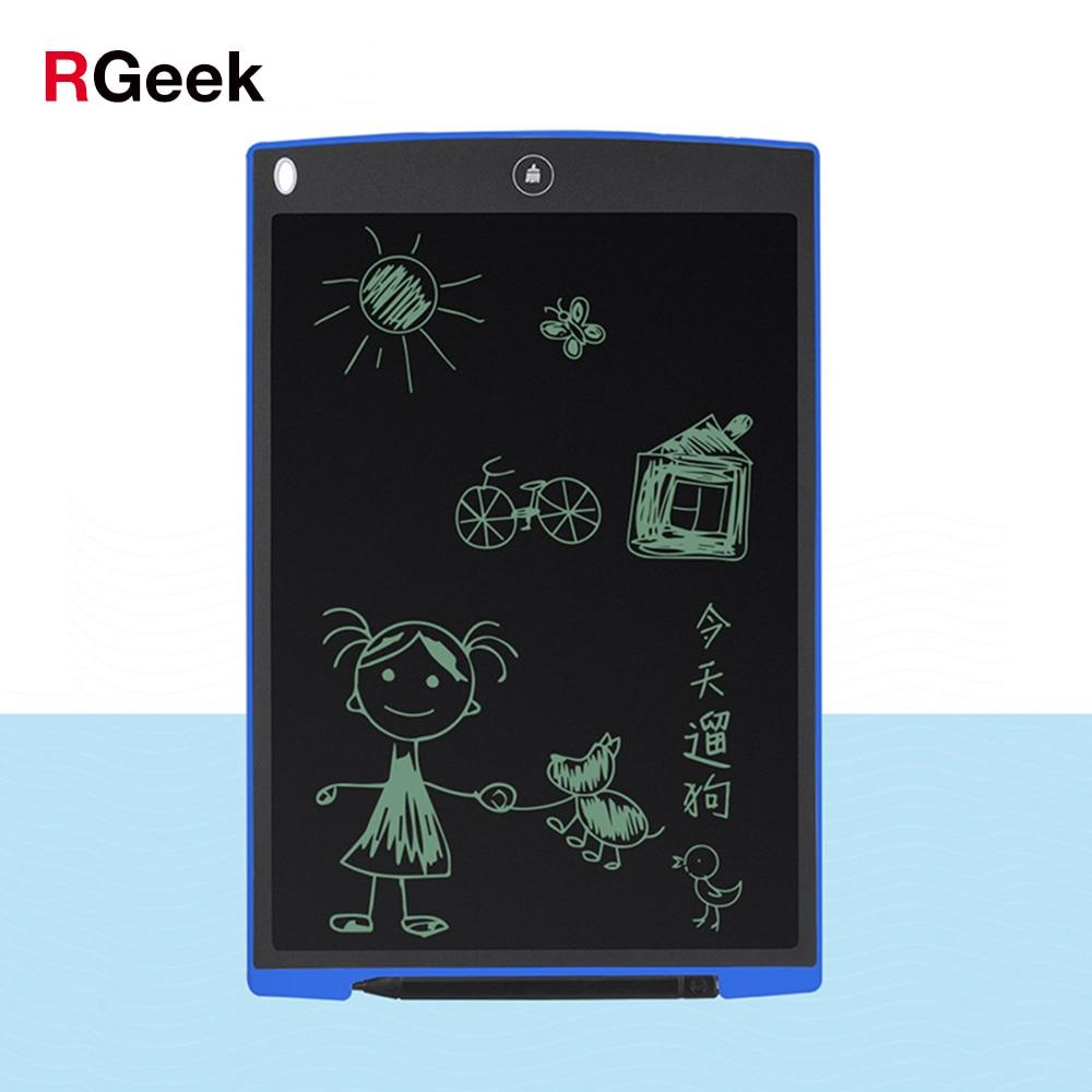 12 Pollice LCD Writing Tablet Tavoletta grafica Digitale Tablet Bordo di Scrittura Pads Elettronica Portatile ultra-sottile Bordo